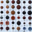 Round Shaped Plastic Buttons