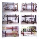 Metal & Wooden Bunk Bed