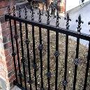 Corrosion Resistant Designer Iron Railing