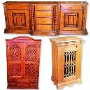 Intricately Designed Wooden Almirah