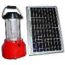 Solar Powered Light Emitting Diode Lantern