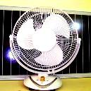 Solar Powered DC Fan
