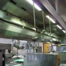 Steel Made Exhaust Hood For Kitchen