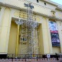 Aluminium Scaffolding Tower With Additional Support