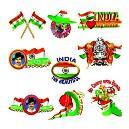 Adhesive Based National Emblem Designed Sticker