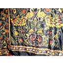 Kantha/ Printed Silk Saree