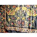 Kantha/ Printed Silk Saree