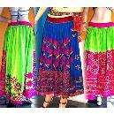 Vintage Gypsy Belly Dance Skirts