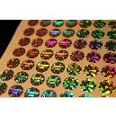 Industrial Grade Multi Color Holograms