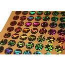 Industrial Grade Multi Colour Hologram