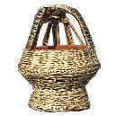 Intricately Designed Kangri Basket