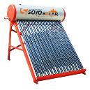 Solar Heater With Evacuated Vacuum Tubes