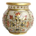 Intricately Designed Marble Pot