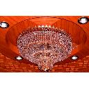 Fine Polished Glass Chandelier