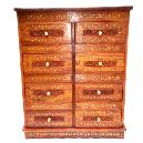 Compact Wooden Drawer Chest