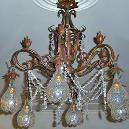 Interior Decoration Purpose Crystal Chandelier