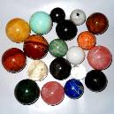 Round Shaped Agate Stone Pebbles