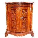 Intricately Designed Wooden Drawer Chest