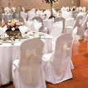 Wedding Chair Cover With Table Cloth