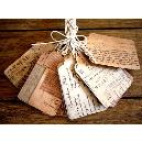 Cotton Rag Handmade Paper Tag