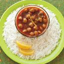 Ready To Eat Chhole Chawal
