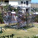 Metal Fabrication Swing For Outdoor Application