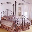 Smooth Finished Iron Bed