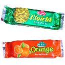 Orange/ Elachi Flavour Cream Biscuits