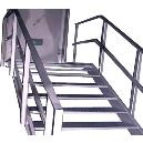 Steel Made Staircase Railing
