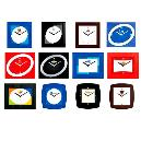 Colourful Designer Wall Clock