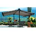 Colourful Awnings For Garden