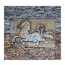 Horse Mural With Slate Stacking Combination