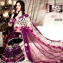 Colourful Designer Embroidery Sarees