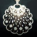Finely Polished Diamond Pendant
