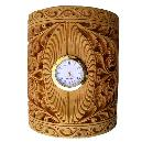 Handcrafted Wooden Table Clock