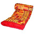 Red And Yellow Coloured Quilt