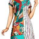 Embroidered Half Sleeve Kurtis
