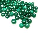 Green Coloured Malachite Cabochons