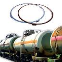 Gaskets With Stainless Steel Compression Limiter