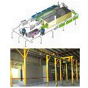 Conveyorised Powder Coating/ Painting Plant