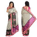 Cotton Made Chanderi Saree With Resham Embroidery