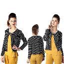 Polka Dot Printed Jacket
