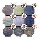 Multicolour Combined Mosaic Tiles