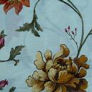 Flower Embroider Designed Fabric