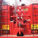 Heavy Duty Fire Fighting Vehicle