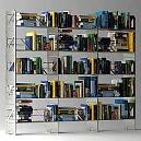 Compact Designed Steel Bookcase