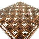 Floral Designed Chess Board