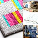 Multicolour Combined Reversible Quilts