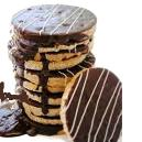Low Fat Crispy Chocolate Biscuit