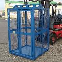 Abrasion And Corrosion Resistant Goods Cage Lifts